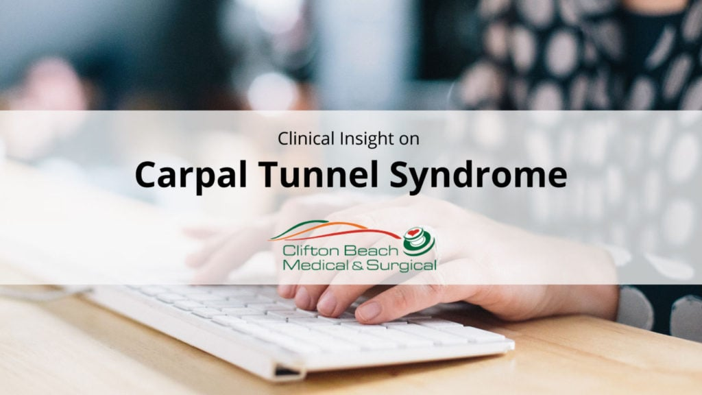 Carpal Tunnel Syndrome – Symptoms, causes, diagnosis and treatment of the conditon